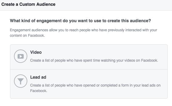 Facebook Lead Ads Engagement