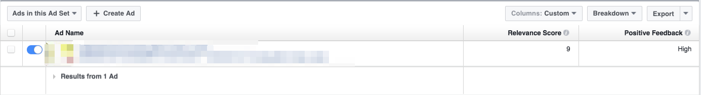 ad account blocked